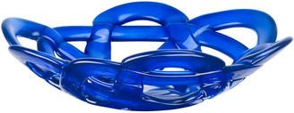 Kosta Boda Basket Bowl Blue