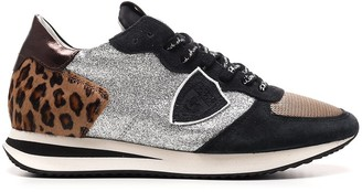Philippe Model Trpx Leo Glitter Sneakers