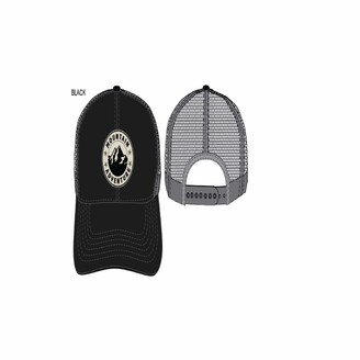 Concept One Men's Adventure Embroidered Patch Slightly Curved Uncle Cap Trucker