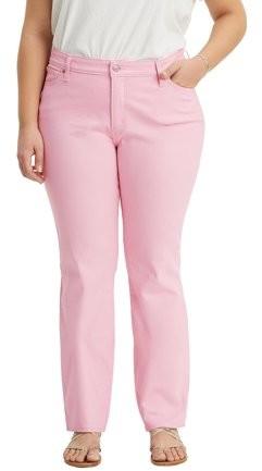211be301ef0eb Light Pink Denim Jeans - ShopStyle