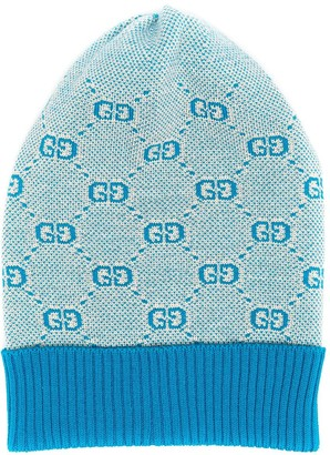 Gucci Kids GG knitted hat