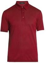 Ermenegildo Zegna Short-sleeved cotton polo shirt