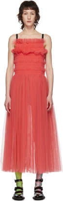 Molly Goddard Pink Shelly Dress