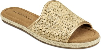 Aerosoles Denville Women's Espadrille Slide Sandals