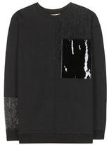 Christopher Kane Embellished Cotton Sweater
