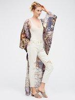 Free People Serafina Floral Print Kimono