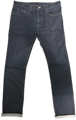 Gucci Blue Cotton Jeans