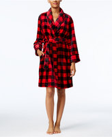 Charter Club Super Soft Plaid Wrap Robe, Only at Macy's