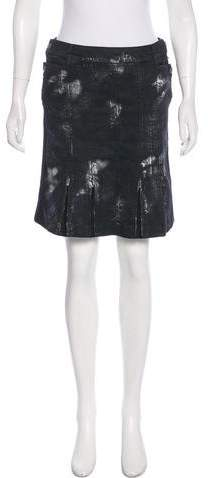 Chanel Denim Mini Skirt