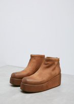 Marsèll wallnut leather scappa ankle boot