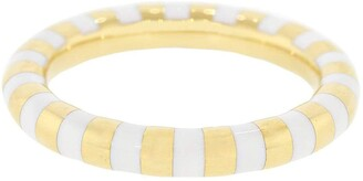 State Property Rusta White Enamel Ring