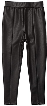 Splendid Littles Faux Leather Leggings (Toddler/Little Kids) (Black) Boy's Casual Pants