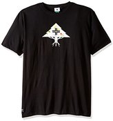 Lrg Men's Big-Tall Research Collection Rounded About T-Shirt