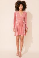 Yumi Kim Duchess Wrap Velvet Dress
