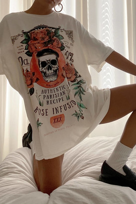 Project Social T Crafted In Paris Oversized Tee