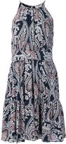 L'Agence paisley print dress - women - Silk - 2