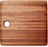 Phil Gautreau Wood Design Square Cutting Board, Brown