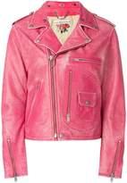 Golden Goose Deluxe Brand off-center zipped jacket