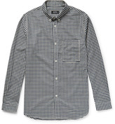 A.p.c. - Slim-fit Button-down Collar Gingham Cotton Shirt