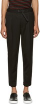 Diesel Black Belted P-Pollack-Sw Trousers