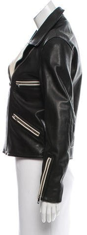 Rag & Bone Two-Tone Leather Jacket