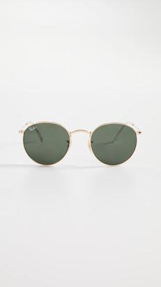 Ray-Ban RB3447 Phantos Round Sunglasses