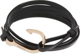 Miansai Hook rose-gold plated wrap bracelet