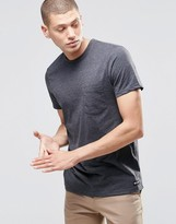 Element One Pocket T-Shirt Charcoal Heather