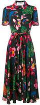 Valentino tropical dream print wrap dress