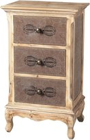 Sterling 89-8009 Linen Covered Chest of Drawer