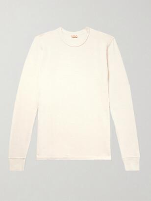 Visvim Slim-Fit Knitted Cotton T-Shirt