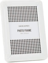 "David Jones Deco' Metal Photo Frame, 4 x 6""/ 10 x 15 cm"