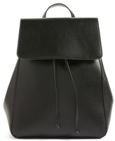 Sole Society Ivan Faux Leather Backpack - Black