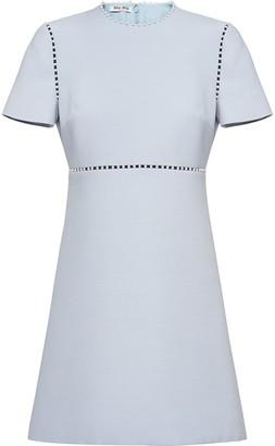Miu Miu pearl-embellished short dress