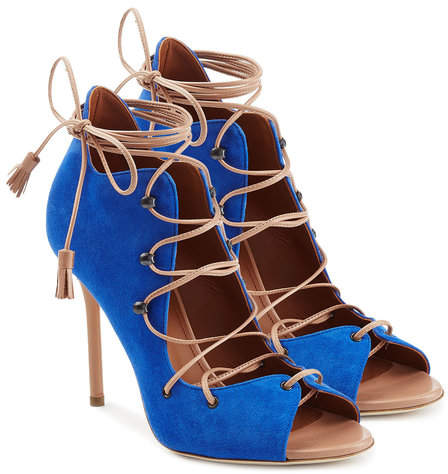 Malone Souliers Sherry Suede Stiletto Sandals