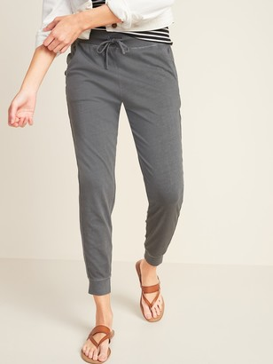 Old Navy High-Waisted Specially-Dyed Lightweight Jogger Pants for Women