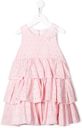 MonnaLisa Layered Ruffle Dress