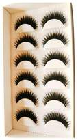 6 Pair Handmade Natural False Eyelashes Japanese Messy Thick Cross Eyelash by ABCsell