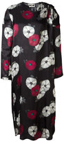 Hache floral print midi dress - women - Acetate/Cupro/Viscose - 40