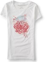 Aeropostale Lotus Blossom Graphic T