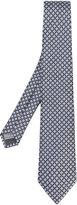 Canali flower weave tie