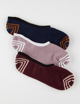 Vans 3 Pack Rock Solid Canoodle Womens Socks