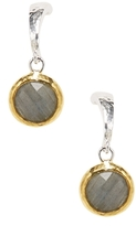 Gurhan Sterling Silver, 24K Yellow Gold & Labradorite Drop Earrings