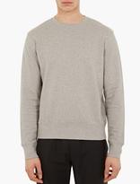 Acne Studios Casey Grey Cotton Sweatshirt