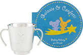 Christofle Galaxie Et Confetti Cup & Picture Book Gift Set-Silver