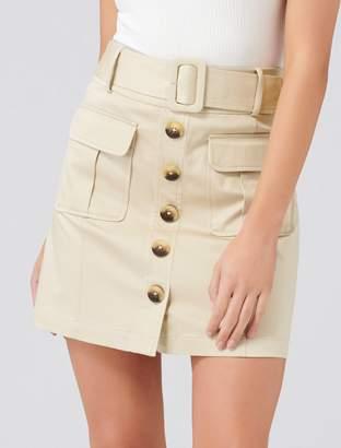 Ever New Arianna Safari Mini Skirt