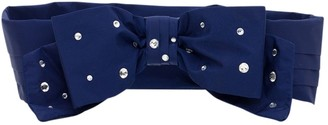 Philosophy di Lorenzo Serafini Bow Belt With Rhinestones