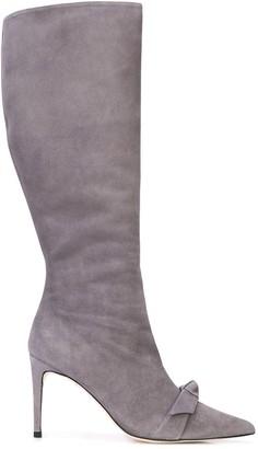 Alexandre Birman Bow Detail Calf Boots