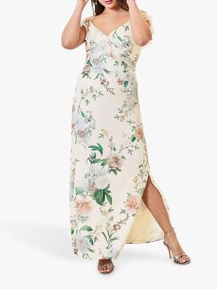 Oasis Ruffle Maxi Dress, Multi
