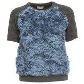 Moncler Light Blue Sweater